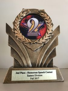Second Place Trophy